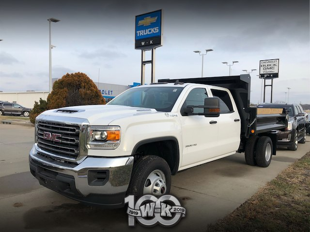 New 2018 Gmc Sierra 3500hd Base Chassis Near Columbia 124354 W K