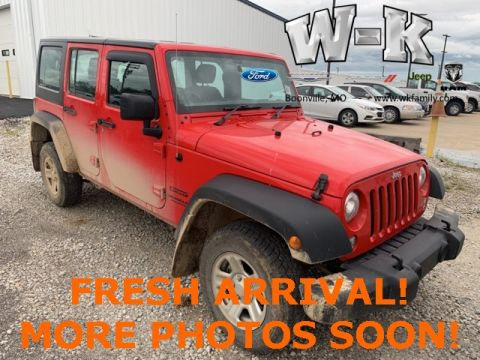 Pre-Owned 2017 Jeep Wrangler Unlimited Sport RHD