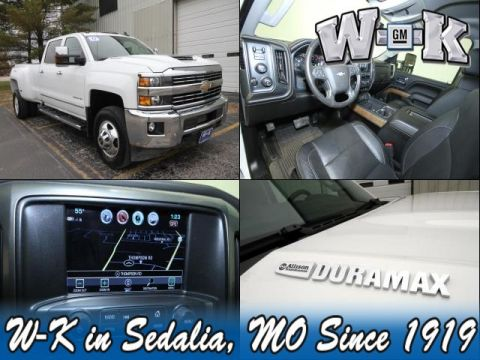 Pre-Owned 2017 Chevrolet Silverado 3500HD LTZ 4WD
