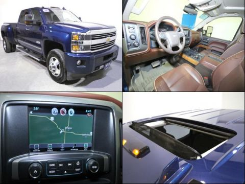 Pre-Owned 2015 Chevrolet Silverado 3500HD High Country 4WD