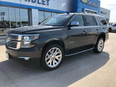 Pre-Owned 2017 Chevrolet Tahoe DEMO